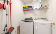 Full-size laundry room