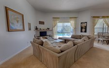 Centrally located family room