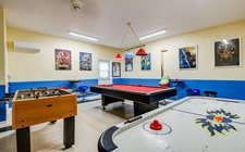 Luxurious and fun game room