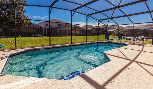 Offering a south-facing private pool and lanai - spacious for the whole family