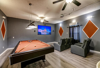 Game room of luxury 7-bedroom villa