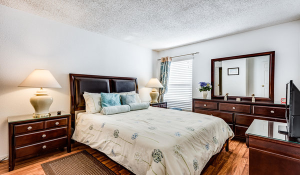 Master Suite #2 with queen bed and en-suite