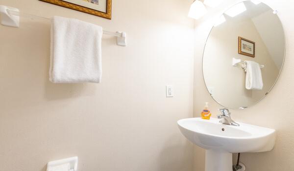 First floor powder room/half-bath