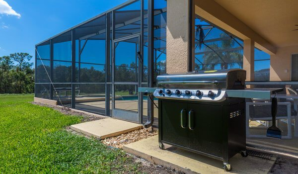 Emerald Island Rental: Complementary large BBQ grill