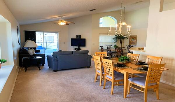 Family room and formal dining
