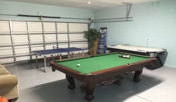 Game-room for the enjoyment of kids