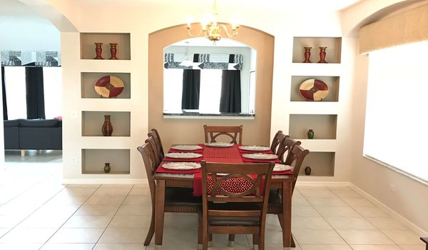 Formal dining area for special meals