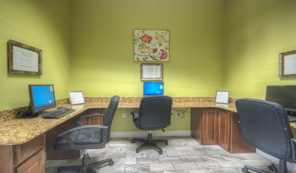 Computer Room at Clubhouse