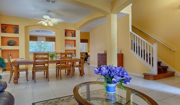 Formal dining and living room view